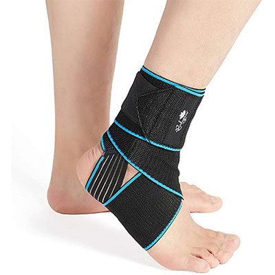 5. Bodyprox 2 Pack Ankle Support Brace for Men & Women