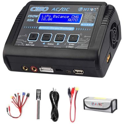 5. HTRC LiPo Charger RC Battery Balance Discharger
