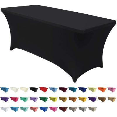 10. ABCCANOPY Spandex 4 ft Fitted Table Cover