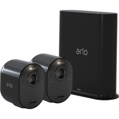 2. Arlo Ultra - 4K UHD Wire-Free Security 2 Camera System