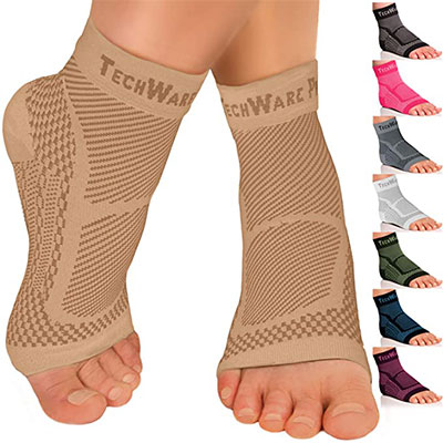 10. TechWare Pro Ankle Brace Compression Sleeve