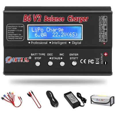 7. Aorika LiPo 1S-6S Balance Discharger Battery Pack Charger