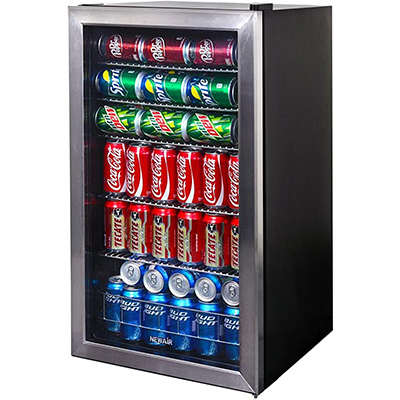 10. NewAir 126 Can Freestanding Beverage Fridge