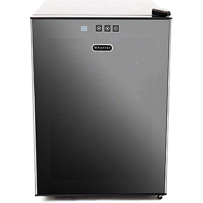 8. Whynter 20 Bottle Thermoelectric Refrigerator