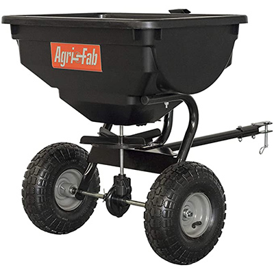 8. Agri-Fab 85 lb. Tow Broadcast Spreader