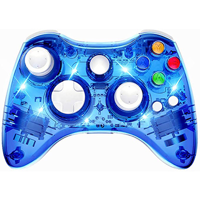 4. PAWHITS Wireless Xbox 360 Gaming Controller