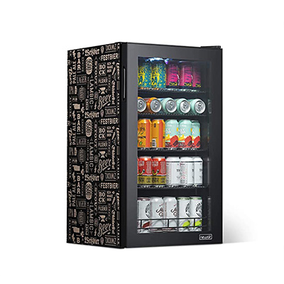4. NewAir 126 Stainless Steel Beverage Fridge