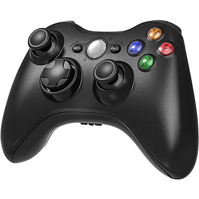 5. YCCSKY Black Xbox 360 Wireless Controller