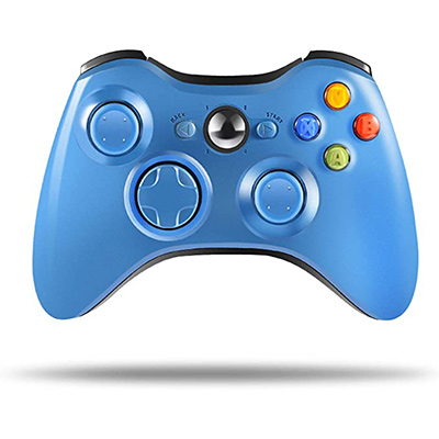 10. ASTARRY Blue Wireless Controller for Xbox 360