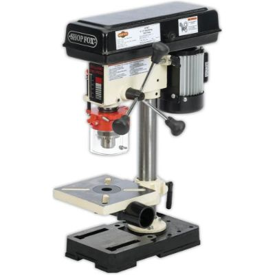 2. Shop Fox ½ HP 8-1/2-Inch Bench-Top Oscillating Drill Press (W1667)