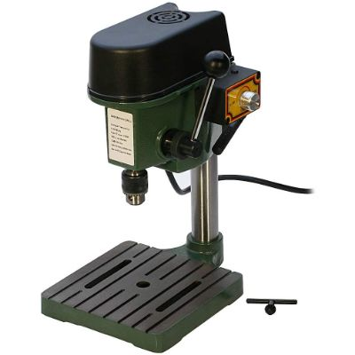 1. EURO TOOL Small Benchtop Drill Press (DRL-300.00)