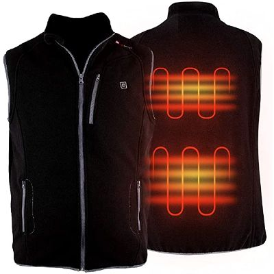 3. PROSmart Heated Vest with USB Battery Pack for Men and Women