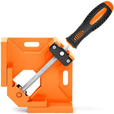 5. HORUSDY 90° Right Angle Clamp, Orange