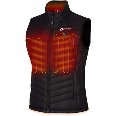 2. Venture Heat Women's Heated Vest with Battery Pack