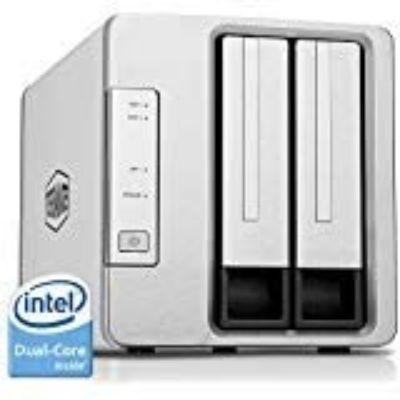 9. TerraMaster NAS 2-Bay Cloud Storage Intel Dual Core (F2-221)