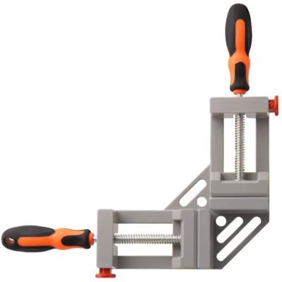 2. SAND MINE 90 Degree Double Handle Corner Clamp, (Grey)