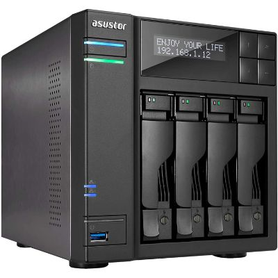 3. Asustor | Network Attached Storage + Free exFAT License (AS6404T)