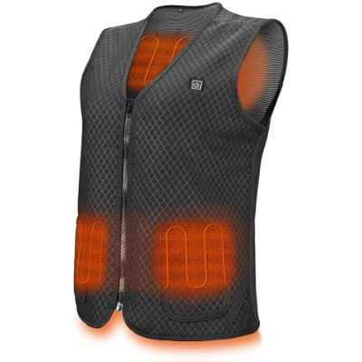 5. PKSTONE USB Charging Electric Heated Vest Jacket